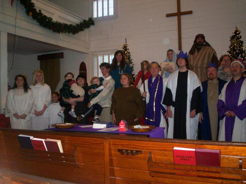 2008 Christmas Play Cast