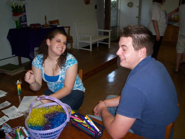 Easter Egg Hunt 09 Amanda and Michael