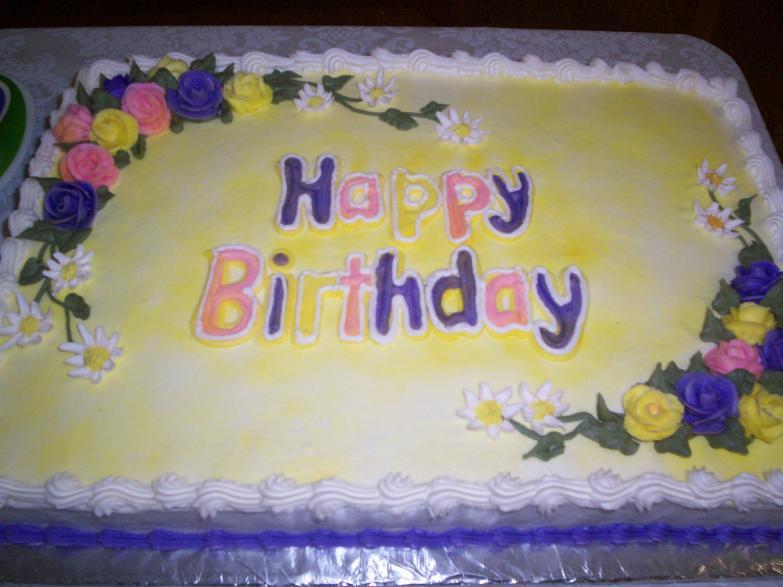 Birthday Cake PW