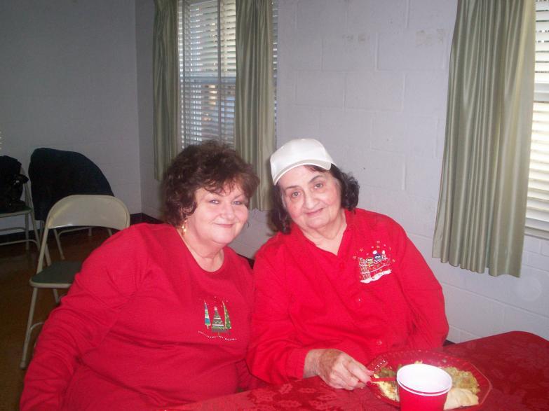 Diane and Mom X-mas 2008