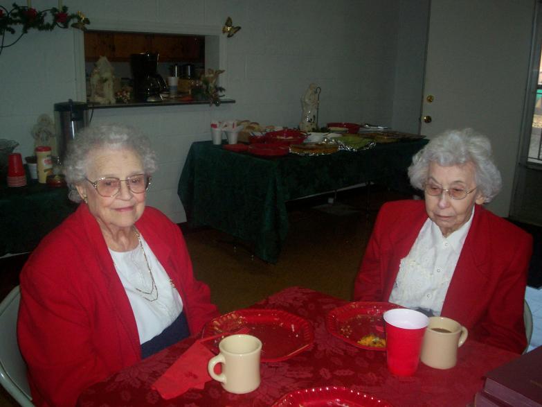 Katherine and Mary Rose, X-mas 2008
