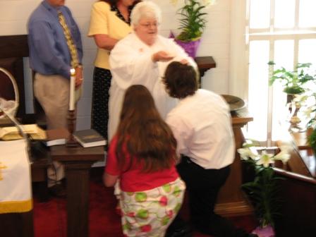 Baptism Justin